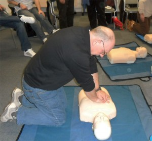 First Aid Training Northamptonshire-cpr
